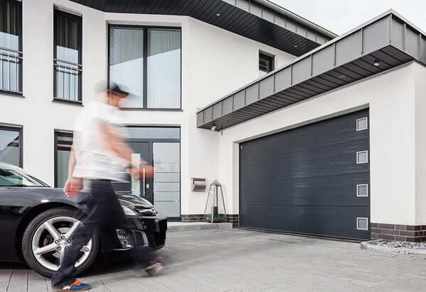 Garageportar Plåtson